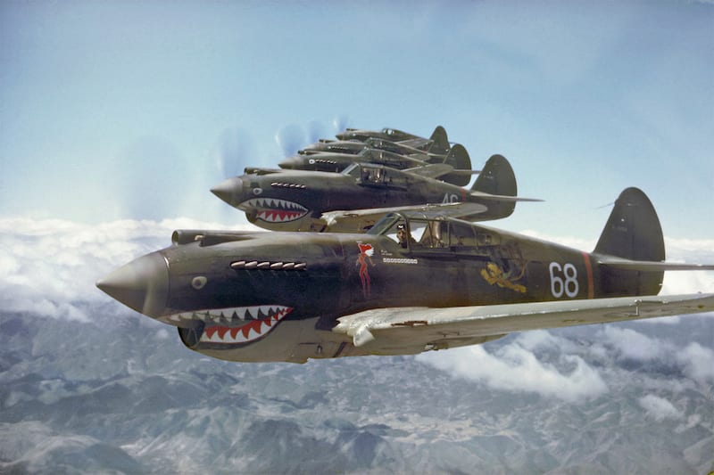 Httpsgeneralaviationnews20151210rv 6 anniversary to be avg flying tigers in formation on may 28 1942photo taken by pilot rt smithcopyright by rtith 800kbg fandeluxe Choice Image