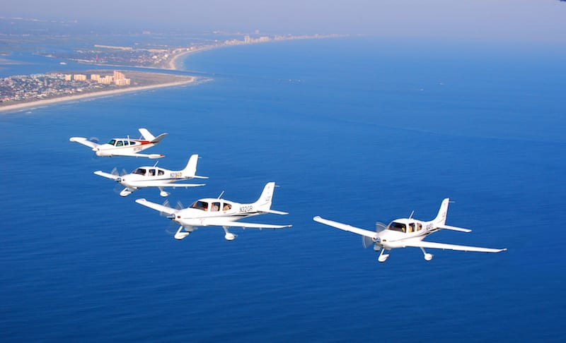 Certified aircraft, including Cirrus and Bonanzas, currently make up the majority of the U.S. fleet. (Photo by Bob Terry)