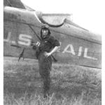 First woman to cross the continent by air