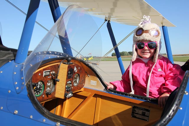 Kids in Aviation First Place Tesha Huffaker