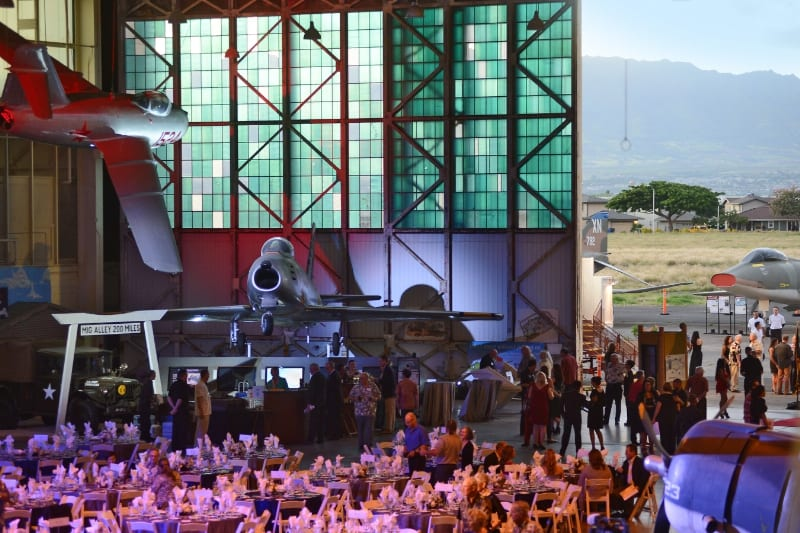 Pacific Aviation Museum Pearl Harbor's 9th Anniversary Gala (PRNewsFoto/Pacific Aviation Museum Pearl...)