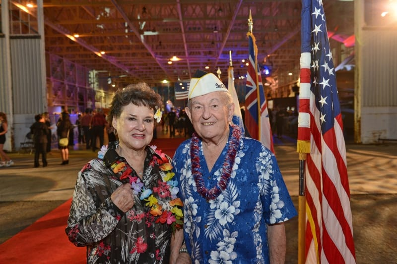 Pearl Harbor Survivor CDR John Mathrusse was on Ford Island 12/7/41 (PRNewsFoto/Pacific Aviation Museum Pearl...)
