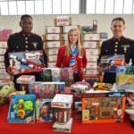 American Aero FTW holds toy drive