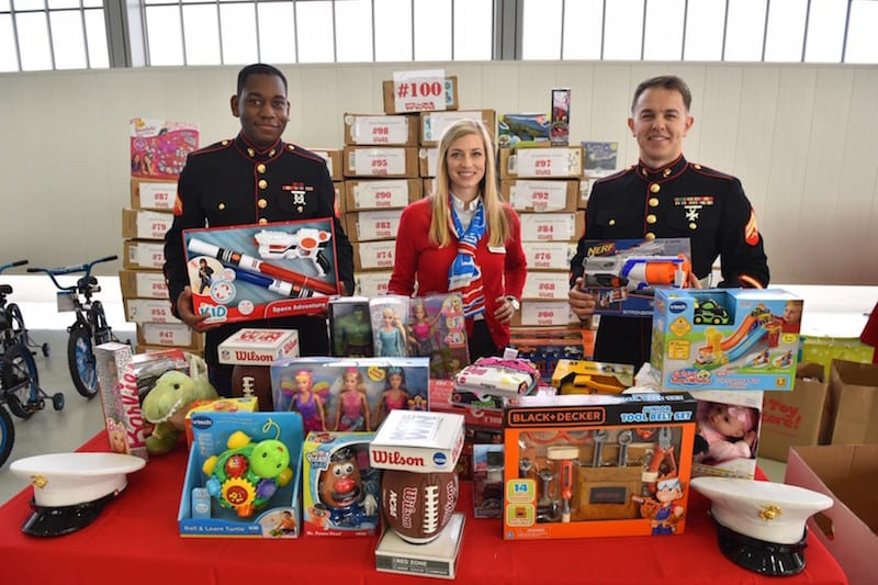 Toys For Tots Border : Ga news american aero ftw holds toy drive recreational