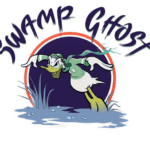 Original Ghost Swamp nose art created by Disney artists