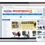 Aircraft Spruce releases mobile-optimized website