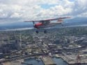 Cessna 170B over Elliott Bay WA 125x94 Pictures of the day: Taking to the skies in a 170B