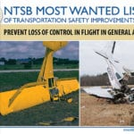 Aviation fares better on NTSB's Most Wanted List