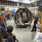 Smithsonian's National Air and Space Museum offers look behind hangar doors