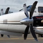 Certified: Raisbeck swept blade propellers for King Air 350s