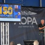 AOPA to give away 150 to new flying club