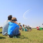 Picture of the day: Enjoying the air show