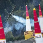 Dolderer wins his first Red Bull Air Race