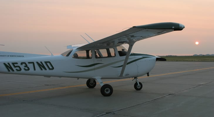 Customs & Border Protection hires UND student pilots