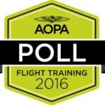 AOPA launches flight training poll