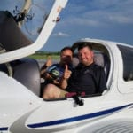 Wounded veteran passes check ride to become instrument pilot