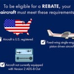 FAA offers rebate for GA aircraft owners to equip for ADS-B