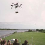 Video: First ship-to-shore drone delivery