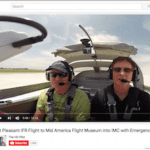 Video: Flying to the Mid America Flight Museum