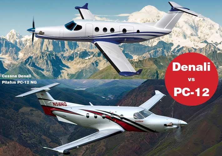 Cessna Denali vs  Pilatus PC-12