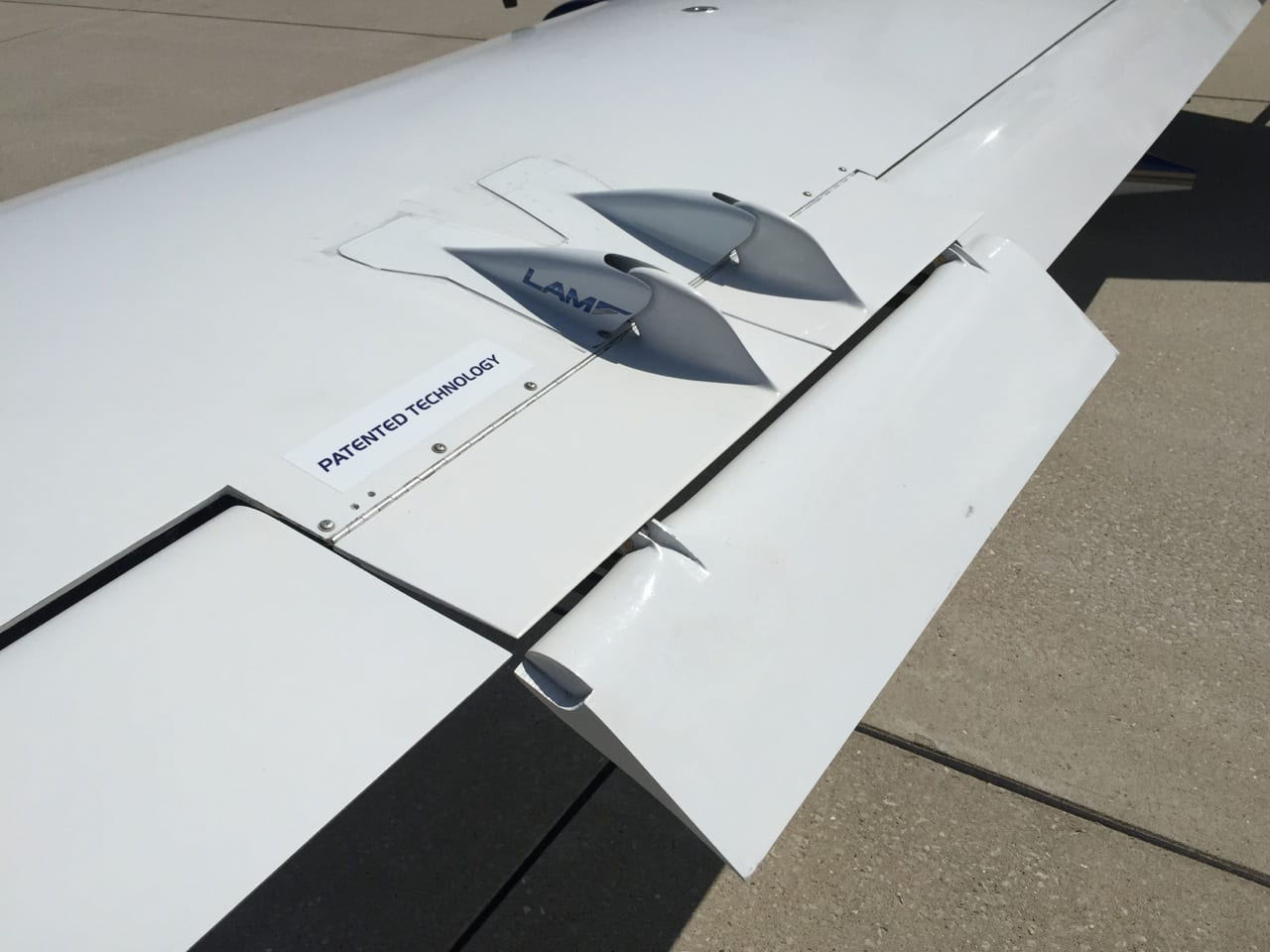 LAM Aviation introduces wing flight control system