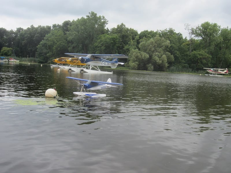 Carbon Cub's mini me at Seaplane Base