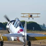 Warbird Roundup features SBD Dauntless, B-25 Mitchell