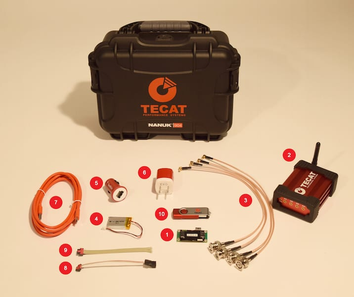 Torque Monitoring System : Tecat now shipping wireless torque measuring and