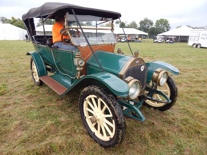 1911 Davis Automobile Owned by Fred Scheel Dayton, Ohio