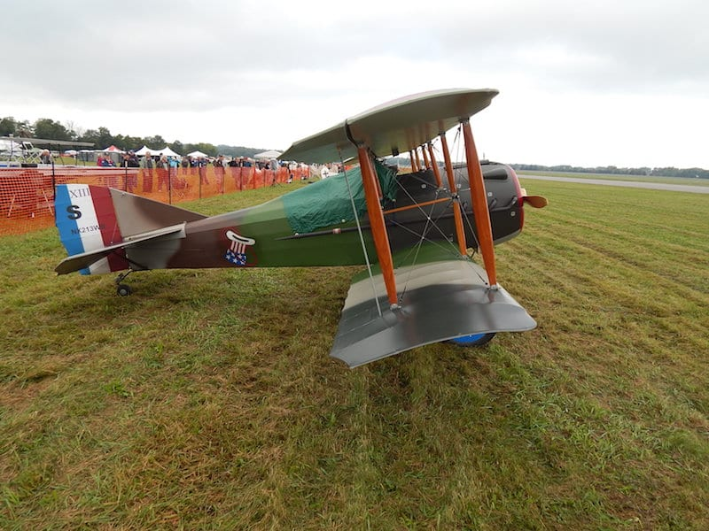 SPAD XIII, 80% scale, owned by Marvin Berk Louisville, Kentucky