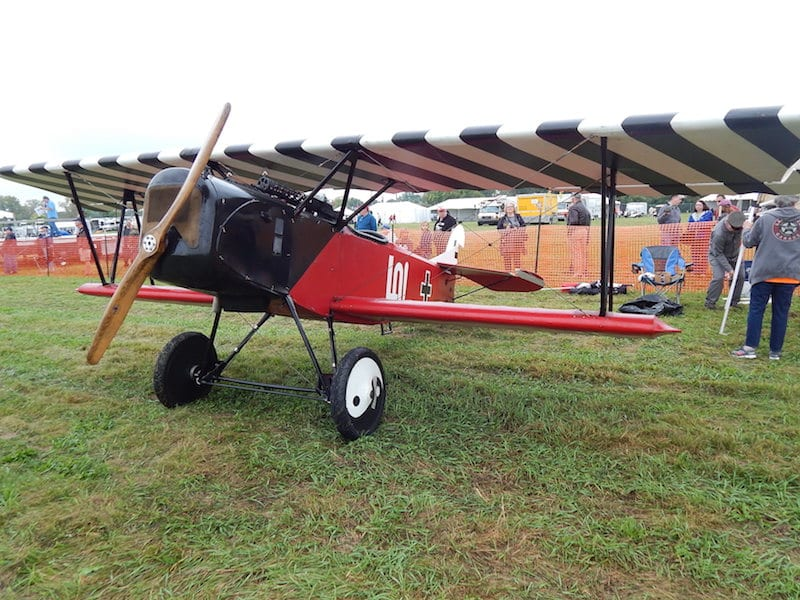 Siemens-Schuckert D-1, 7/8 scale, owner Marvin Story, Kansas City, Missouri