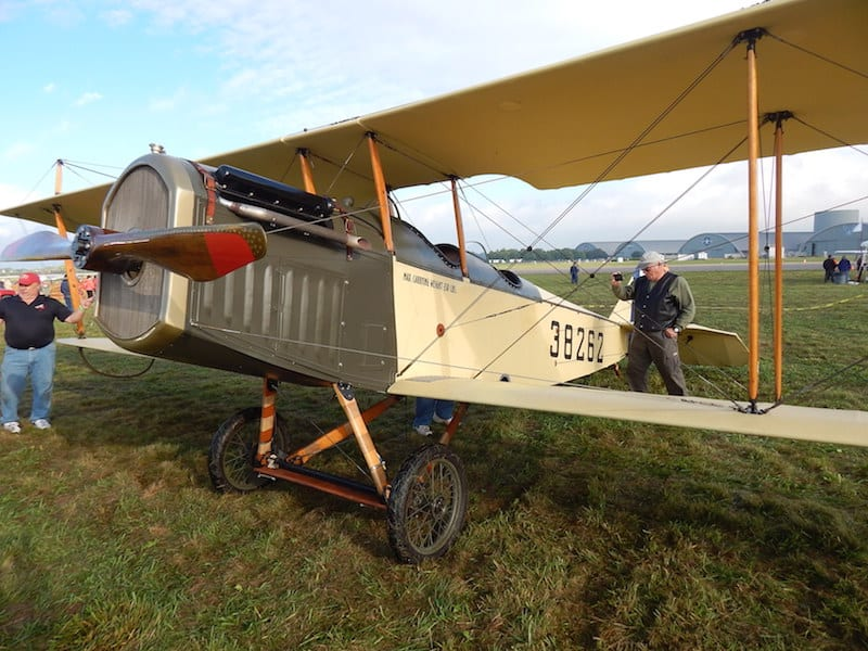 "Full scale 1917 Curtis JN-4 ""Jenny"", owner C.D. Walker, Bowling Green, Kentucky"
