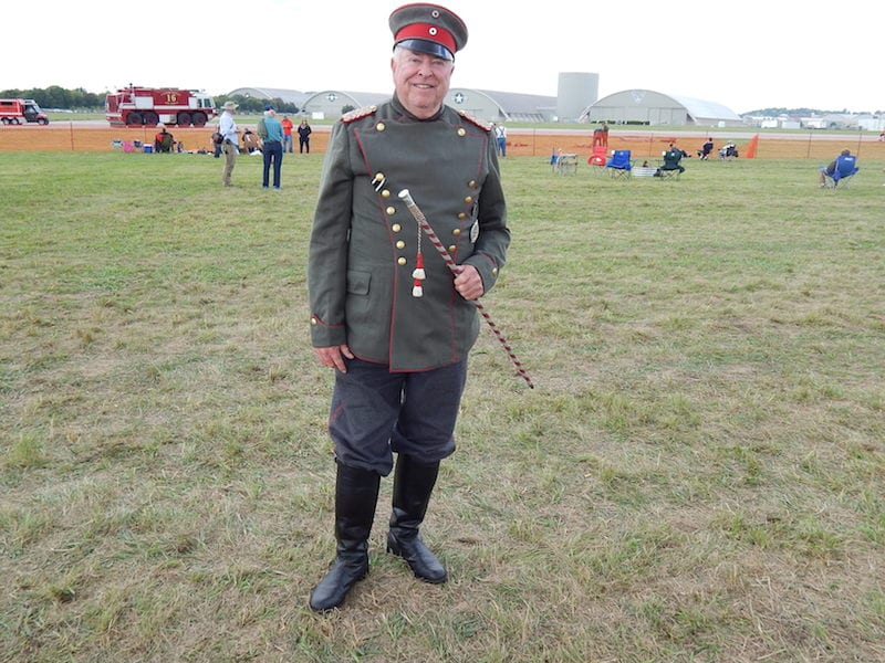 WW I German Cavalry uniform worn by Victor Vick