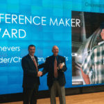 Hal Shevers awarded 'Difference Maker' from Cincinnati Business Aviation Symposium