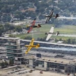 First-ever Red Bull Air Race held in Indy