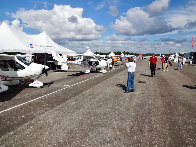 Sport aircraft displays at the new DeLand Sport Showcase featured the latest in the category, including the CT line of aircraft. Aerojones America, out of Tamiami Airport in Florida, has been manufacturing and distributing CTs for the last two years.