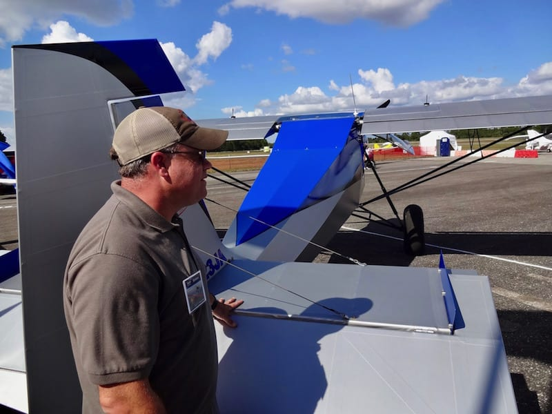 Demo pilot for Just Aircraft, Harrison Smith, gave a spectacular near hover performance in his SuperSTOL.