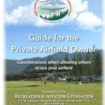 Guide for Private Airfield Owners released
