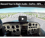 Video: Record your flight audio to a GoPro