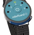 Reliefband helps prevent nausea from airsickness