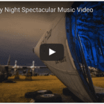 Boneyard by night