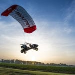 Skyrunner takes off