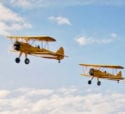 A stack of Stearmans
