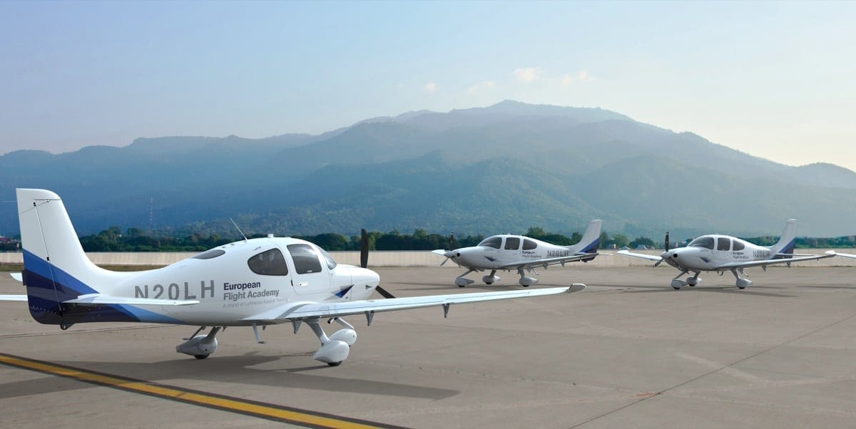 Lufthansa selects Cirrus for Airline Pilot Training Program