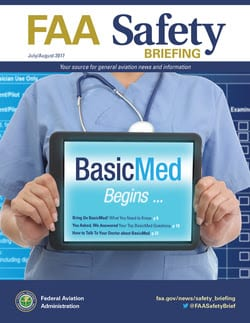 Latest FAA Safety Briefing answers questions about BasicMed