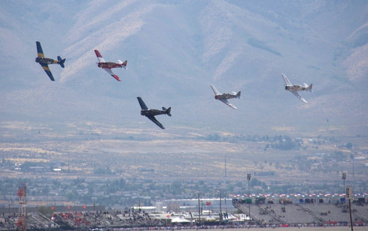 The best way to watch the Reno Air Races