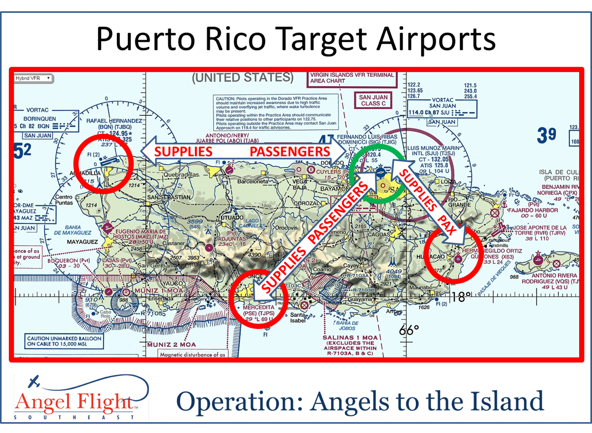 Angels to the Island provide relief in Puerto Rico