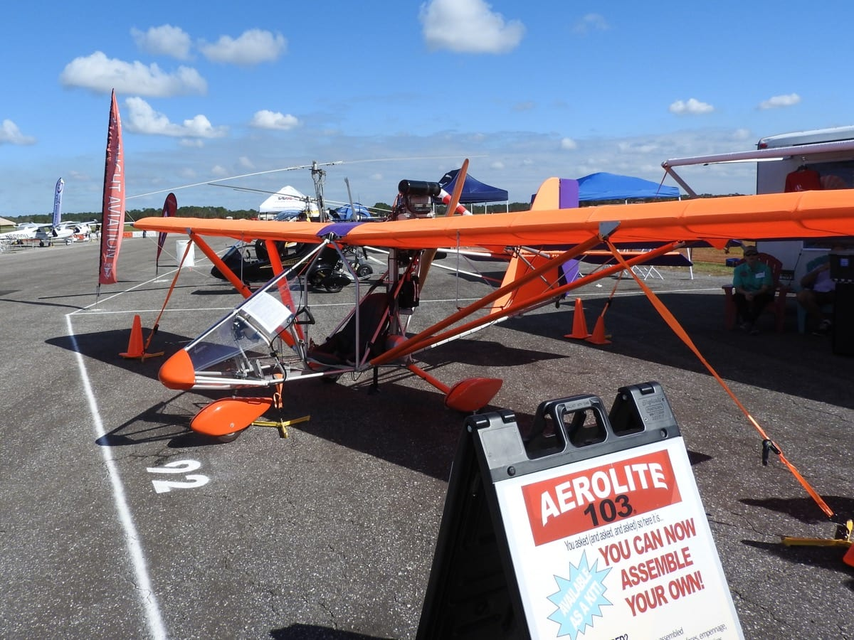 There Were Many Displays Of Ultralight And Light Sport Aircraft Kits.  (Photo By Ted Luebbers)