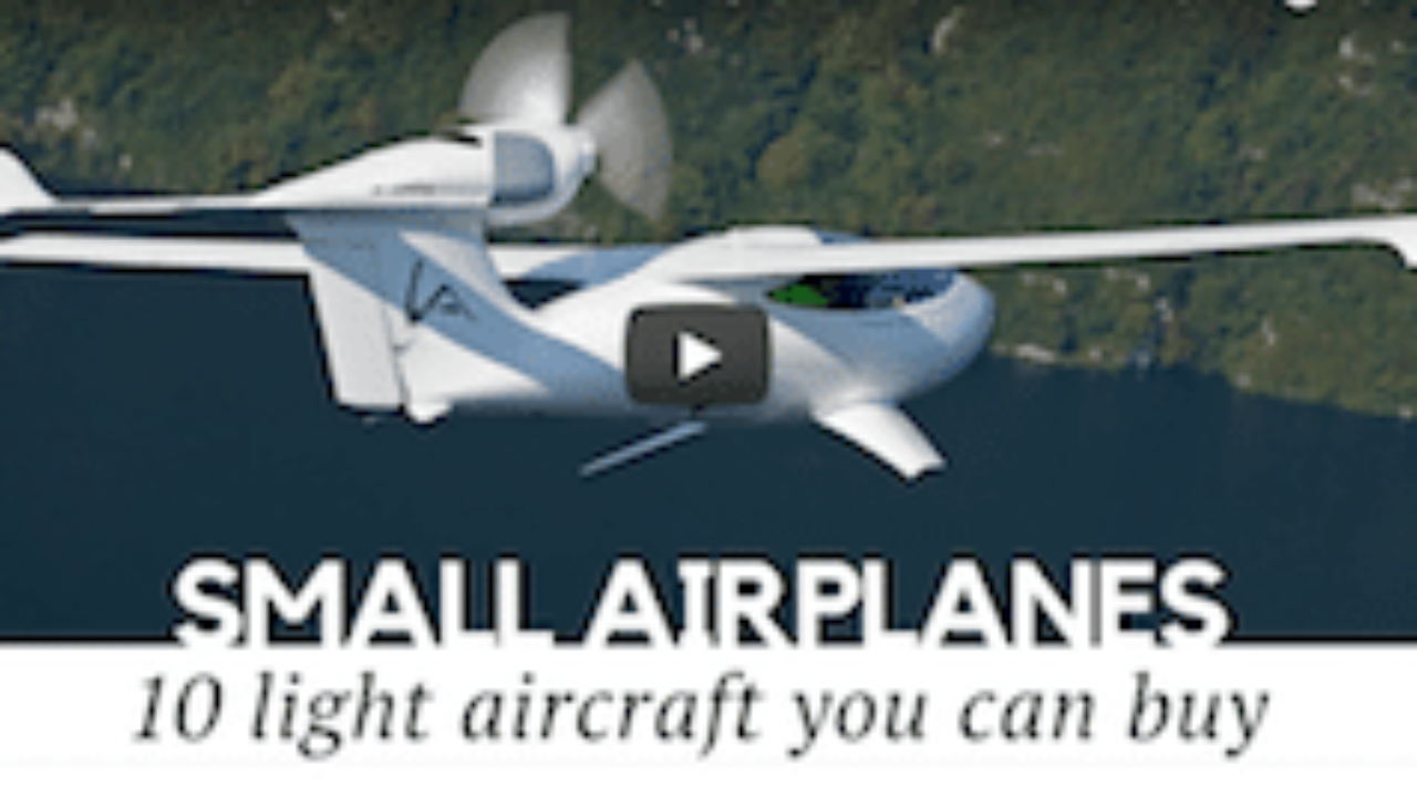 Video: 10 Airplanes You Can Actually Buy in 2018