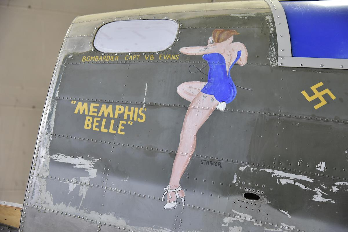 Memphis belle restoration continues with unveiling set for may we have symbols in the history of our country things like the flag that flew at iwo jima the battleship arizona these recognizable symbols of the malvernweather Choice Image
